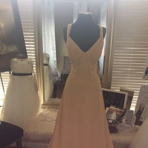 Dresses & Skirts - Champagne Chiffon Formal